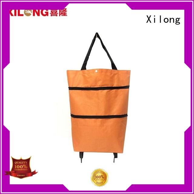 Xilong odm trolley bags for supermarket shopping or travel, order now