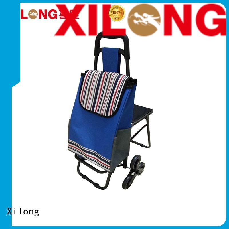 Xilong odm fashionable shopping trolley for wholesale for ladies