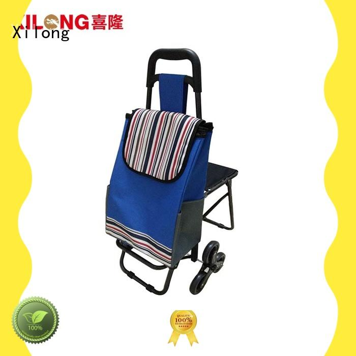 Xilong polyester foldable shopping bag customization for girls