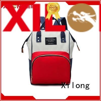 Xilong mummy cute diaper bag backpack diaper for packing