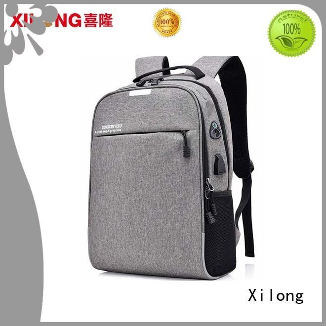 laptop backpack laptop bag usb for travel Xilong