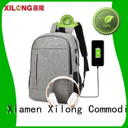 Xilong backpack laptop backpack companies port for travel
