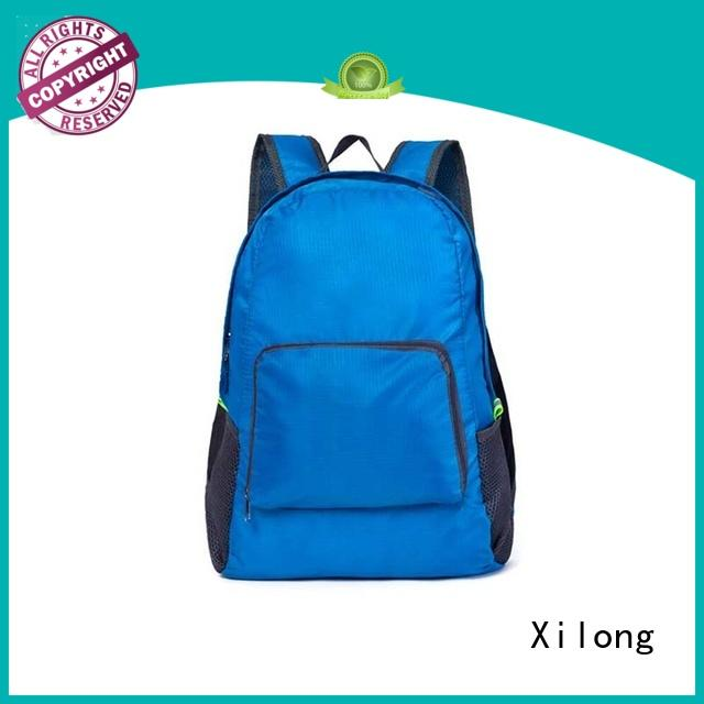 Xilong small best foldable backpacks best quality duffle
