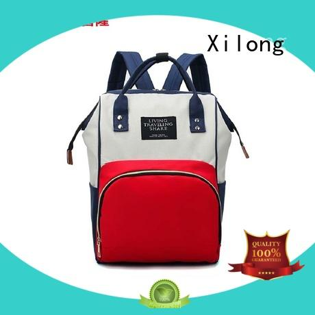 Xilong bag backpack purse diaper bag backpack