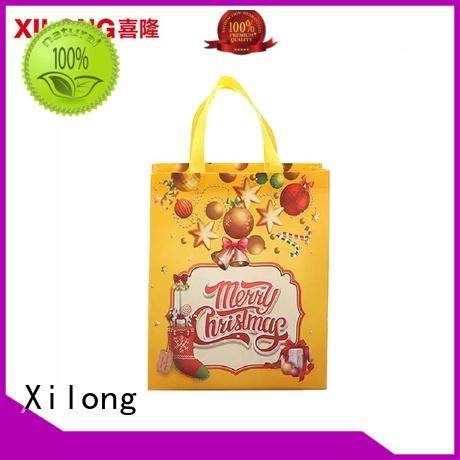 Xilong tote trendy reusable shopping bags factory price