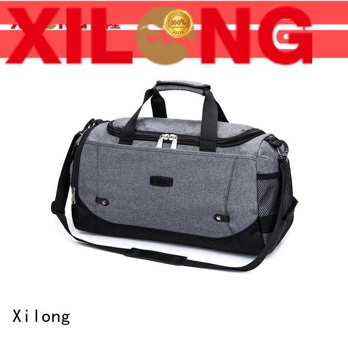 cheap duffle bags wholesale black for travel Xilong