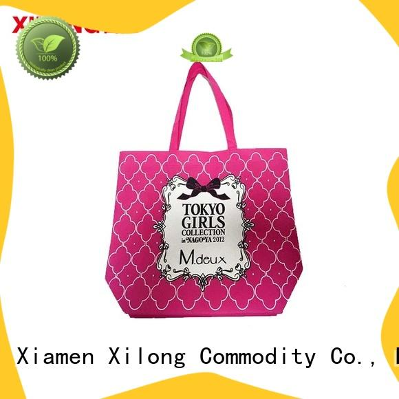 Xilong bag customized shopping bags for business free sample for hiking