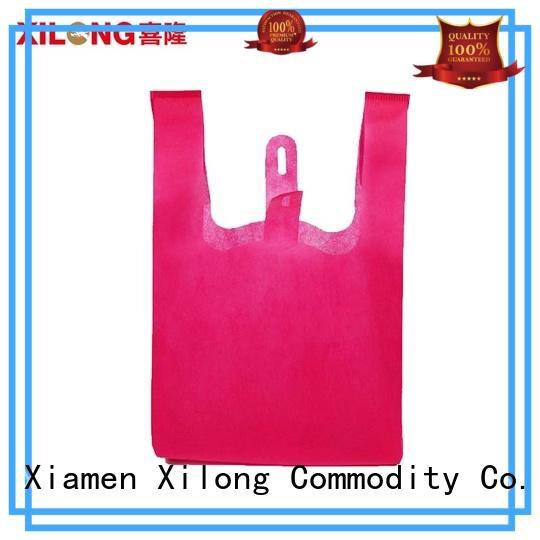 Xilong eco-friendly waterproof shopping bag free sample for travel