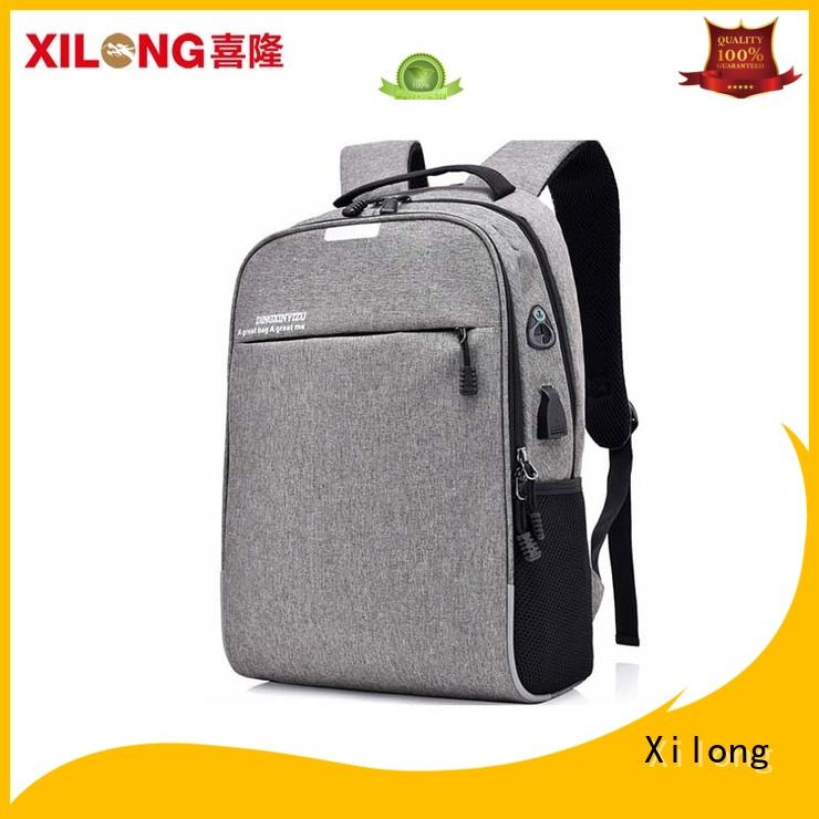 Xilong business stylish laptop backpacks bags for computer