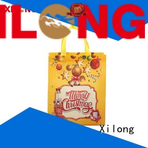 Xilong non woven order custom shopping bags factory price