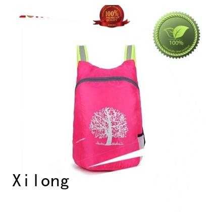 Xilong light fold up backpack reasonable price