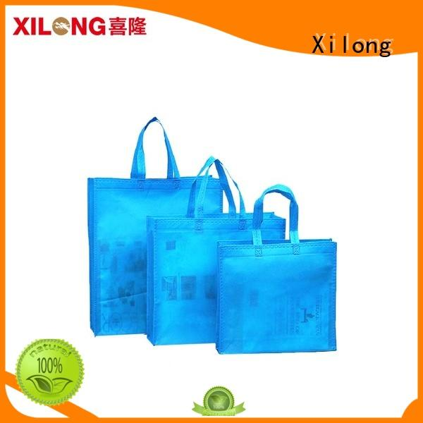 Xilong non woven china shopping bag manufacturer wholesale now for travel