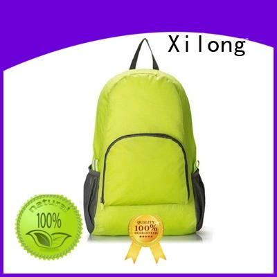 Xilong foldable oem backpack best quality for girls