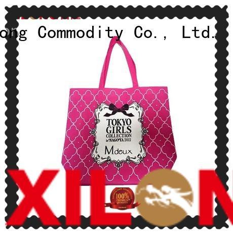 Xilong non shopping bag manufacturer for trip