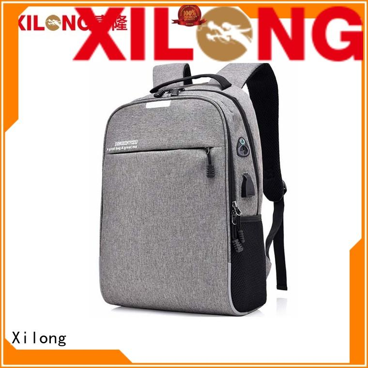 Xilong customized top laptop backpacks bags for business trip