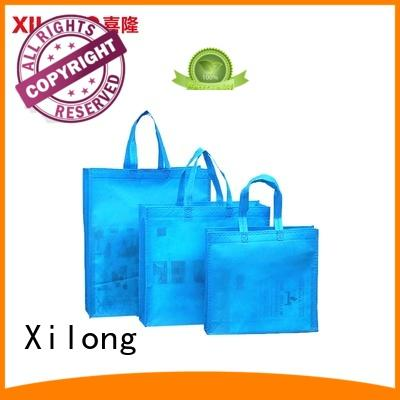 Xilong colorful china shopping bag manufacturer for students