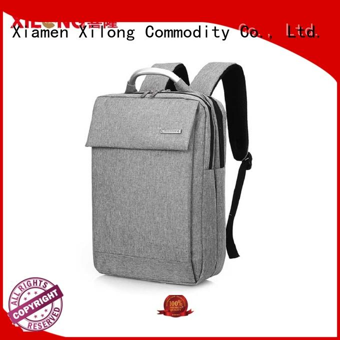 Xilong charging trendy laptop backpacks business for computer