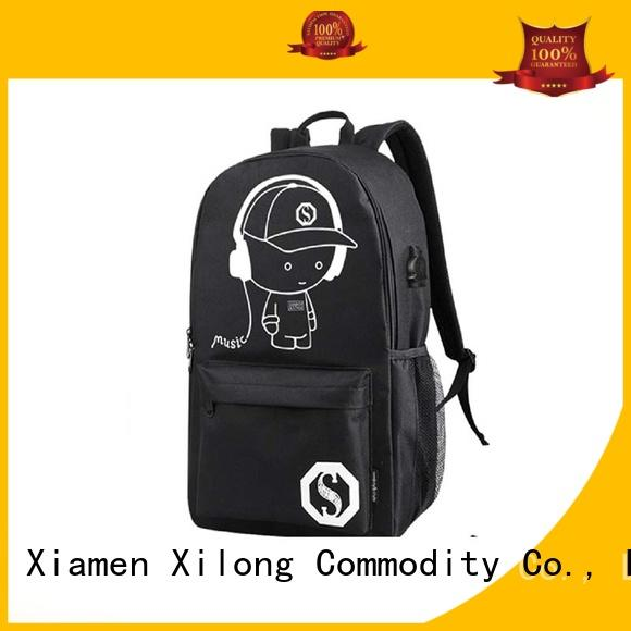 Xilong backpacks school backpack manufacturers china for wholesale