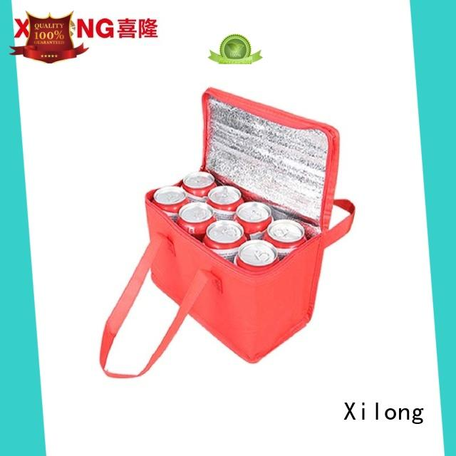 Xilong woven personalized cooler bag bag
