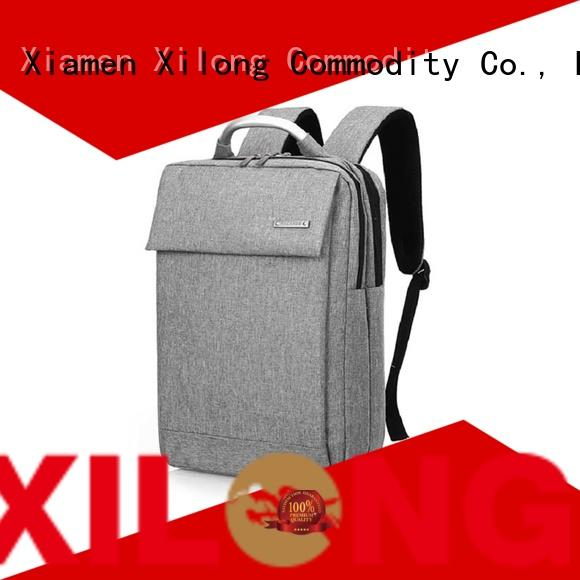 Xilong customized waterproof laptop backpack laptop for business trip
