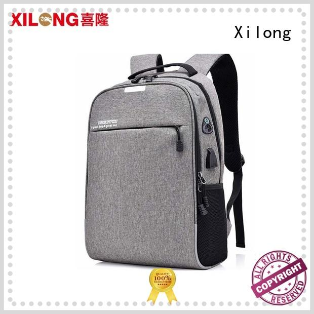 Xilong customized notebook backpack business for travel