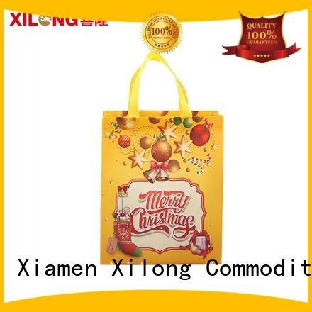 Xilong order custom shopping bags factory