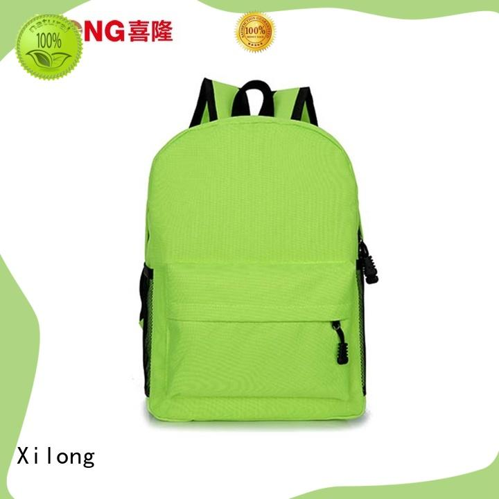 Xilong cool cheap backpacks for school custom for students