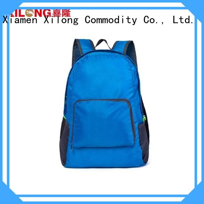 Xilong foldable backpack bag Suppliers