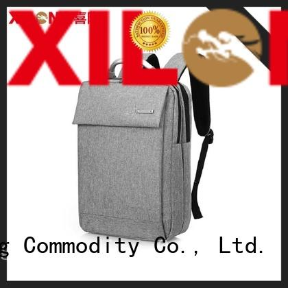charging custom embroidered laptop bags light for travel Xilong