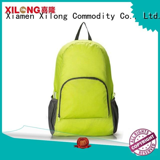 Xilong best foldable backpack Supply