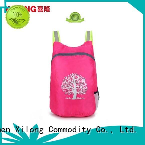 Xilong light best foldable backpack best quality for girls