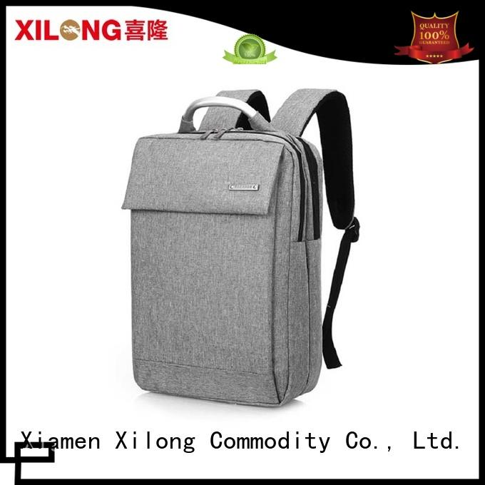 Xilong charging trendy laptop backpacks fashion for travel
