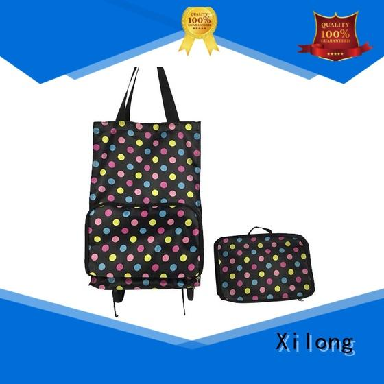 foldable shopping trolley bag shopping for girls Xilong