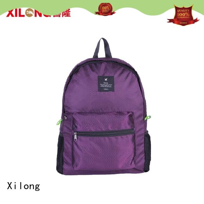 foldable travel backpack customer for tour Xilong