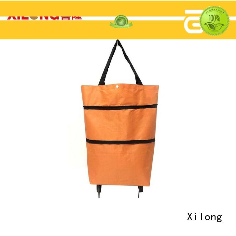 Xilong foldable shopping bag company for wholesale for women