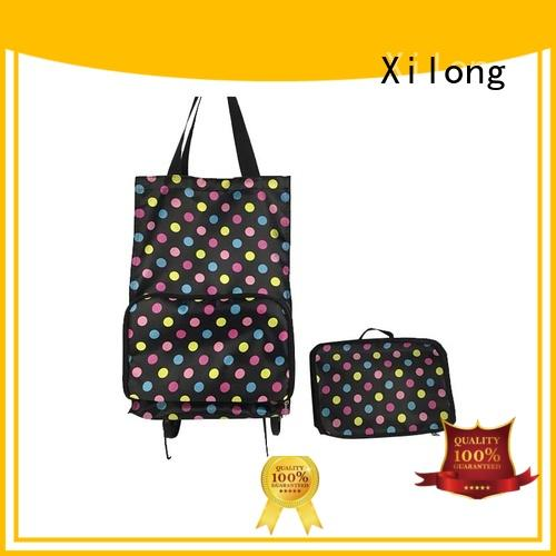 shopping folding shopping trolley for wholesale for travel Xilong
