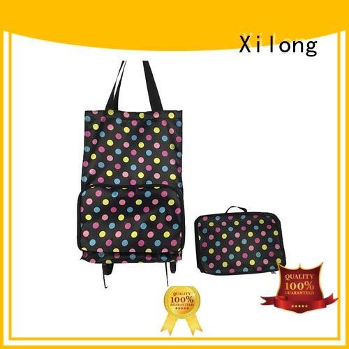 Xilong trolley cheap personalized shopping bags customization for women