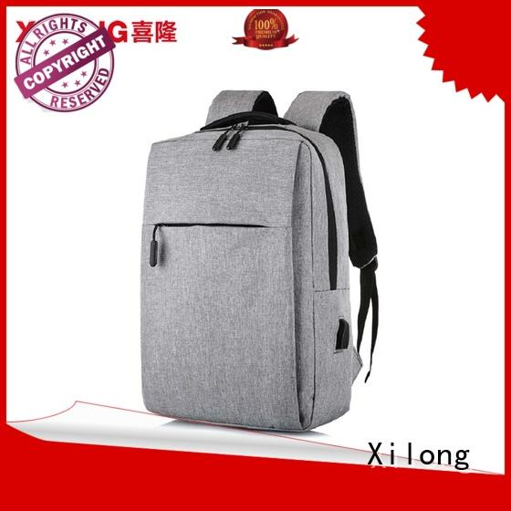 Xilong waterproof personalised computer bags backpack for business trip