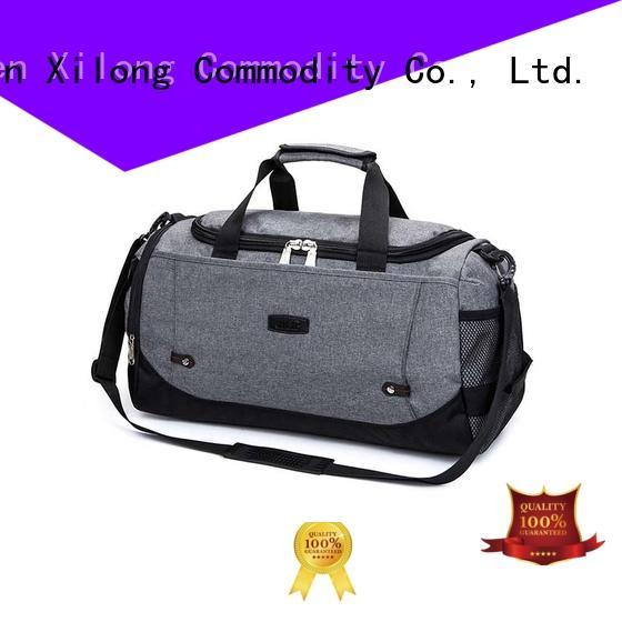 Xilong customized duffle bags no minimum supplier