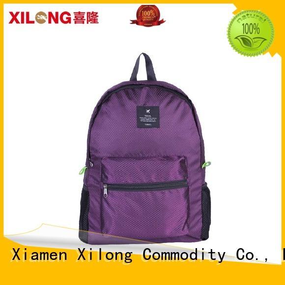 Xilong foldable foldable bike backpack for girls