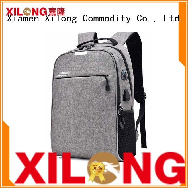 bags custom laptop backpack durable for travel Xilong