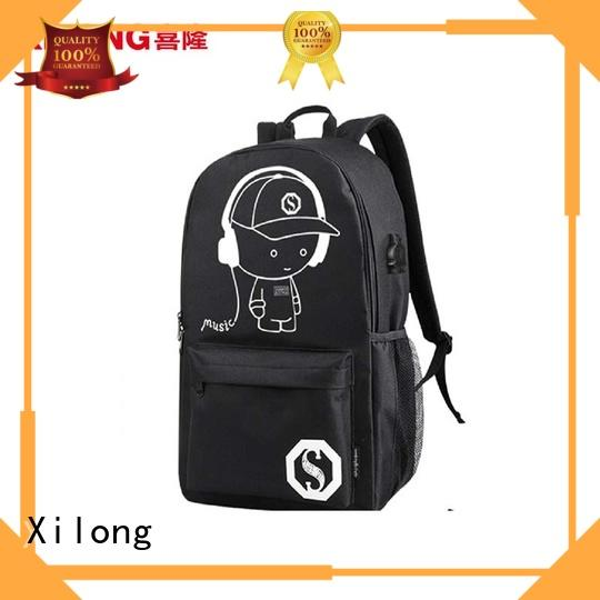 Xilong at discount school backpack manufacturers favorable price for high school