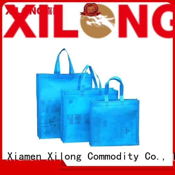 Xilong eco-friendly eco shopper bags factory price for trip
