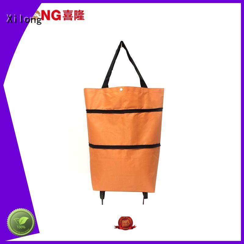 Xilong bag shopping bag on wheels customization for travel