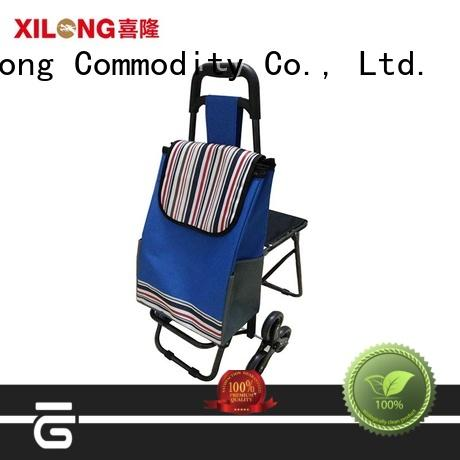 folding shopping bags wholesale china seat for girls Xilong