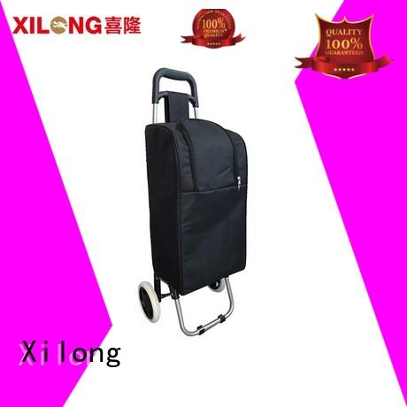 Xilong folding personalized rolling cooler bag fro students