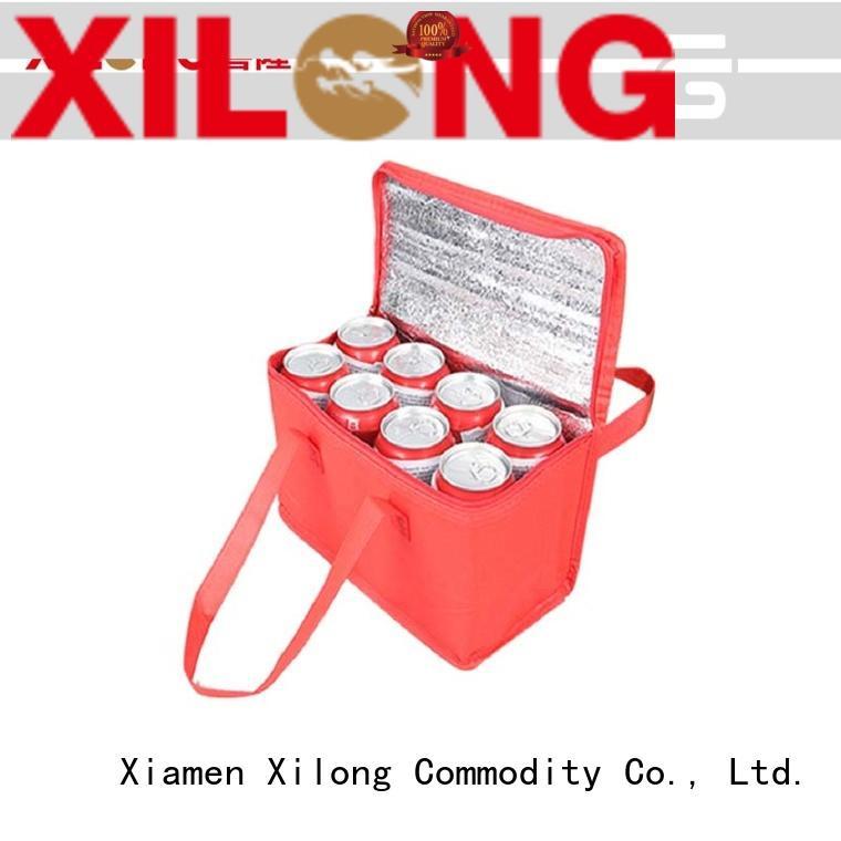 Xilong aluminium personalized cooler tote aluminium for storage