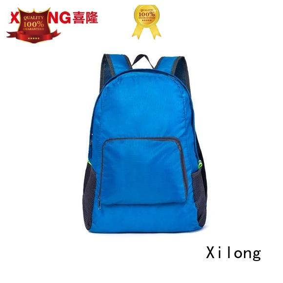 Xilong printing oem backpack