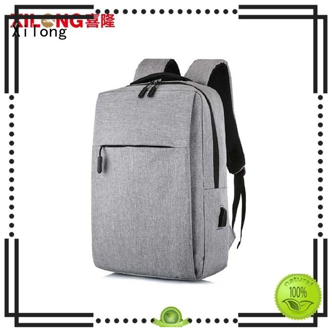 Xilong light custom logo laptop backpack light for computer