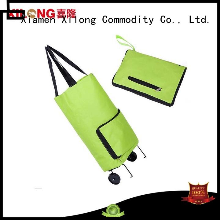 Xilong at discount fold up shopping trolley laminated for girls